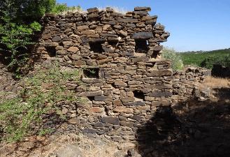 Ruinas de El Membrillo Bajo, Zalamea la Real (Huelva)