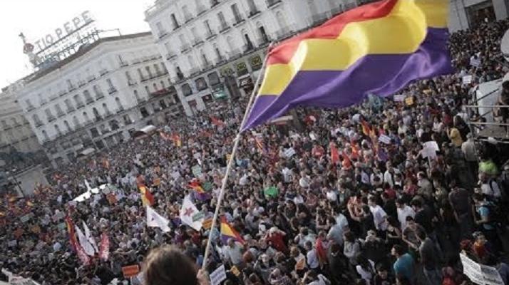 Resultado de imagen de manifestacion republicana madrid