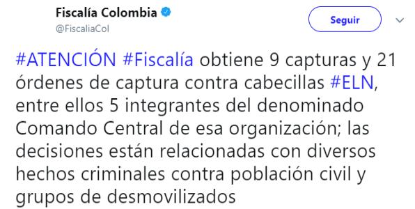 Comando Central ELN.